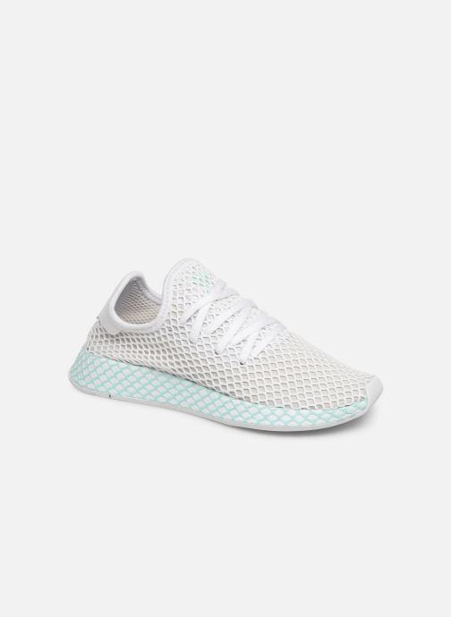Sneakers adidas originals Deerupt Runner W Hvid detaljeret billede af skoene