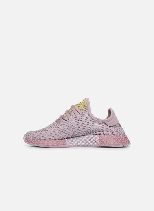Baskets adidas originals Deerupt Runner W Violet vue face