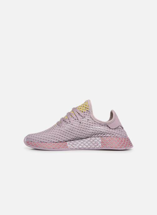 Sneaker adidas originals Deerupt Runner W lila ansicht von vorne