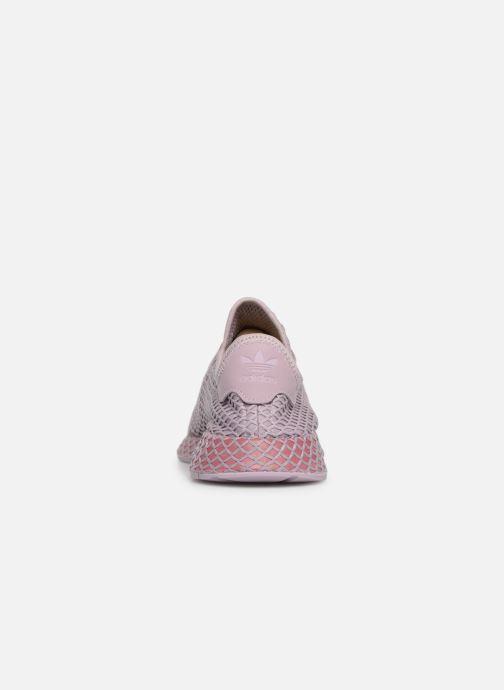 Sneaker adidas originals Deerupt Runner W lila ansicht von rechts