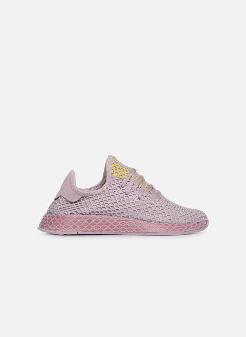 Trainers Adidas Originals Deerupt Runner W Purple back view