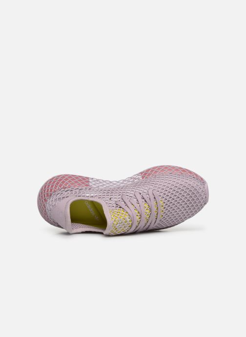 Deportivas adidas originals Deerupt Runner W Violeta      vista lateral izquierda