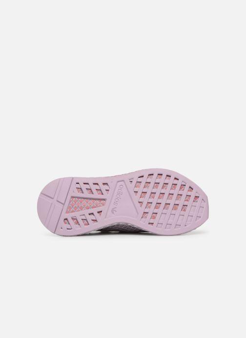 Deportivas adidas originals Deerupt Runner W Violeta      vista de arriba