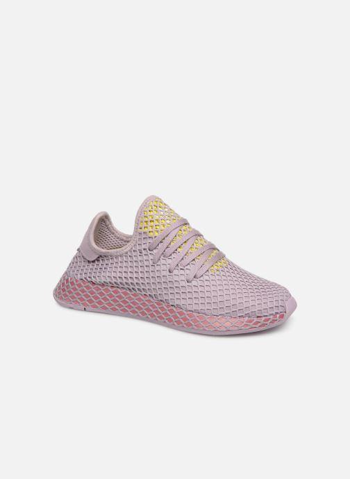 Sneakers adidas originals Deerupt Runner W Lila detaljerad bild på paret