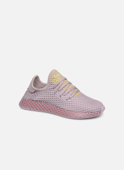 Trainers Adidas Originals Deerupt Runner W Purple detailed view/ Pair view