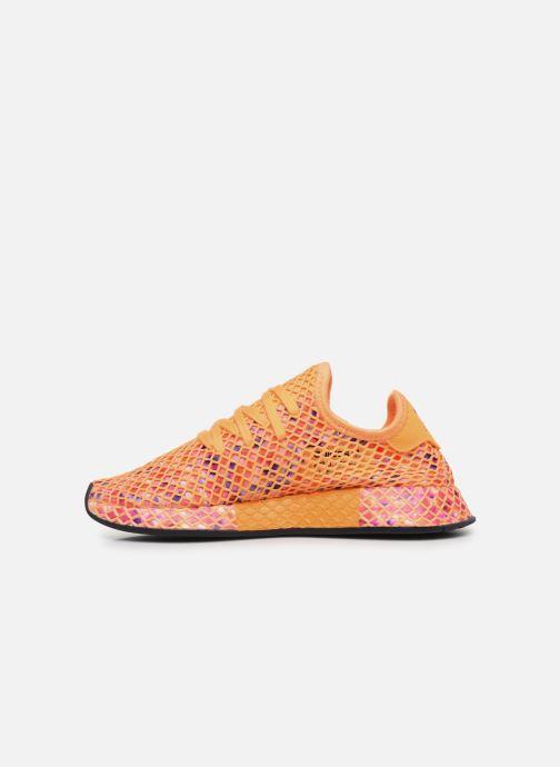 Baskets adidas originals Deerupt Runner W Orange vue face