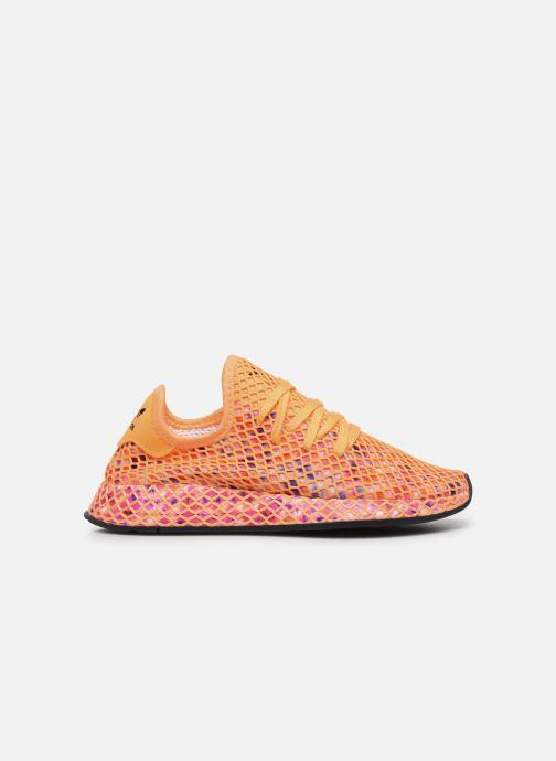 Baskets adidas originals Deerupt Runner W Orange vue derrière