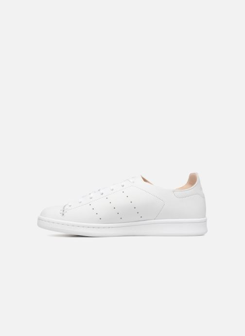 Trainers Adidas Originals Stan Smith Lea Sock White front view