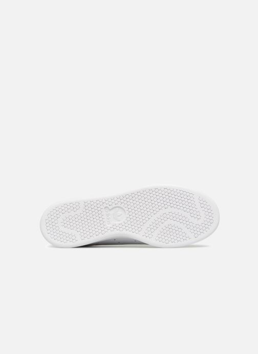 Trainers Adidas Originals Stan Smith Lea Sock White view from above