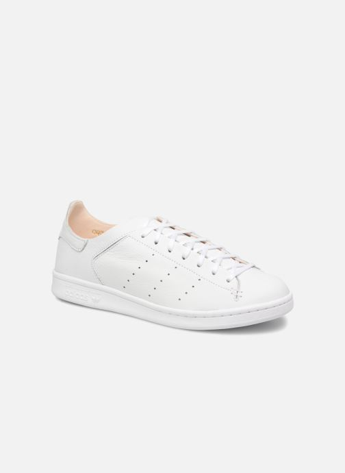 Trainers Adidas Originals Stan Smith Lea Sock White detailed view/ Pair view