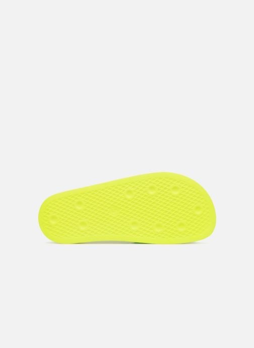 Mules & clogs Adidas Originals Adilette Lilo W Yellow view from above