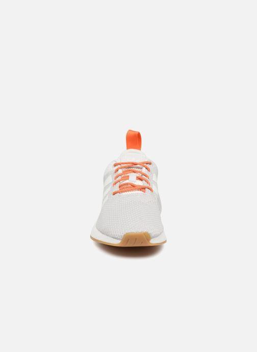 Sneaker adidas originals Nmd R2 Summer grau schuhe getragen