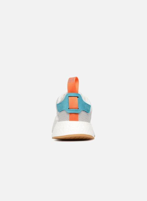 Baskets adidas originals Nmd R2 Summer Gris vue droite