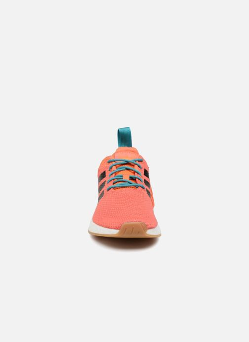 Baskets adidas originals Nmd R2 Summer Orange vue portées chaussures