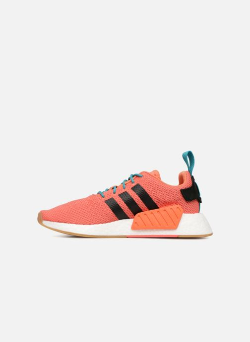 Baskets adidas originals Nmd R2 Summer Orange vue face