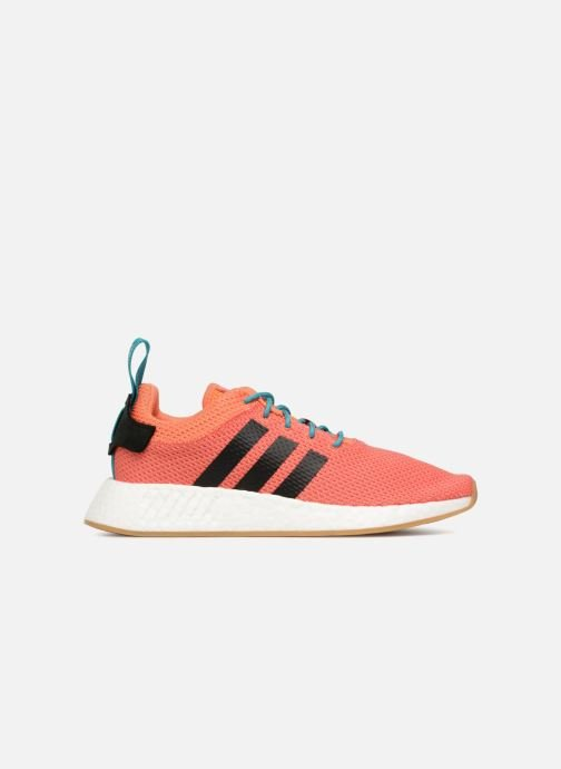 Baskets adidas originals Nmd R2 Summer Orange vue derrière