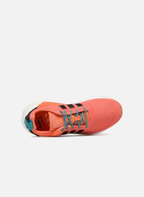 Baskets adidas originals Nmd R2 Summer Orange vue gauche