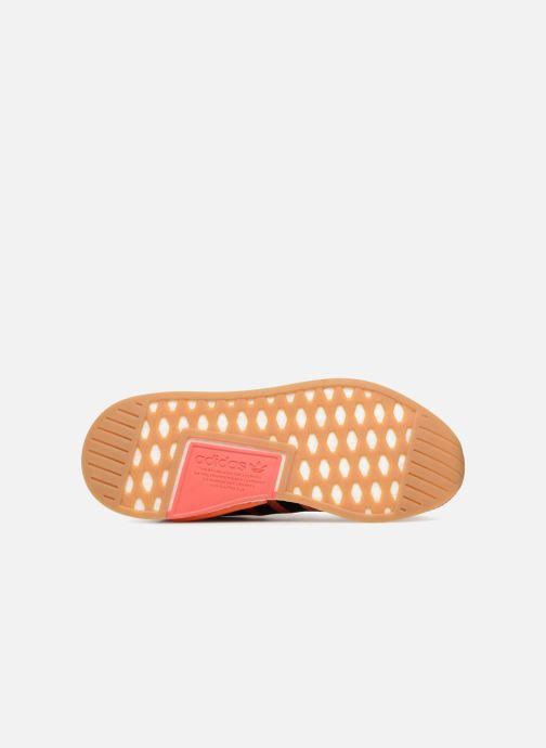 Baskets adidas originals Nmd R2 Summer Orange vue haut
