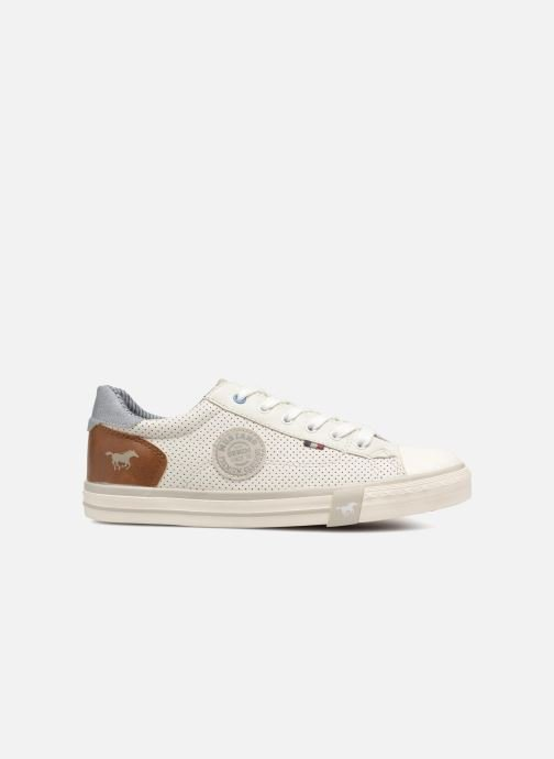 Sneakers Mustang shoes Miro Wit achterkant