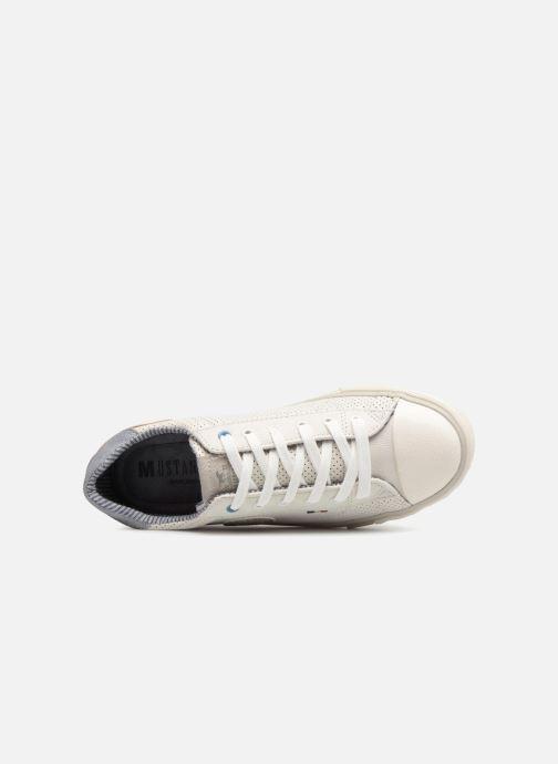 Baskets Mustang shoes Miro Blanc vue gauche