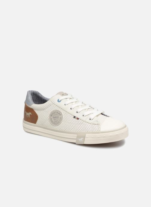 Sneakers Mustang shoes Miro Wit detail