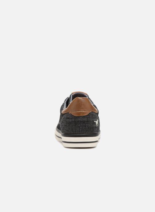 Baskets Mustang shoes Miro Noir vue droite