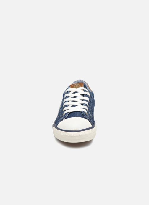 Baskets Mustang shoes Miro Bleu vue portées chaussures