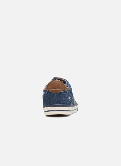Baskets Mustang shoes Miro Bleu vue droite