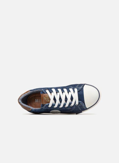 Baskets Mustang shoes Miro Bleu vue gauche