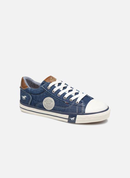 Baskets Mustang shoes Miro Bleu vue détail/paire