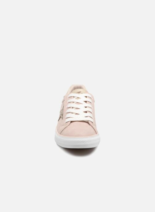 Baskets Mustang shoes Keira Rose vue portées chaussures