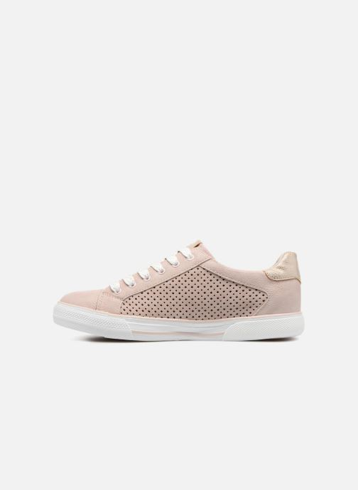 Baskets Mustang shoes Keira Rose vue face