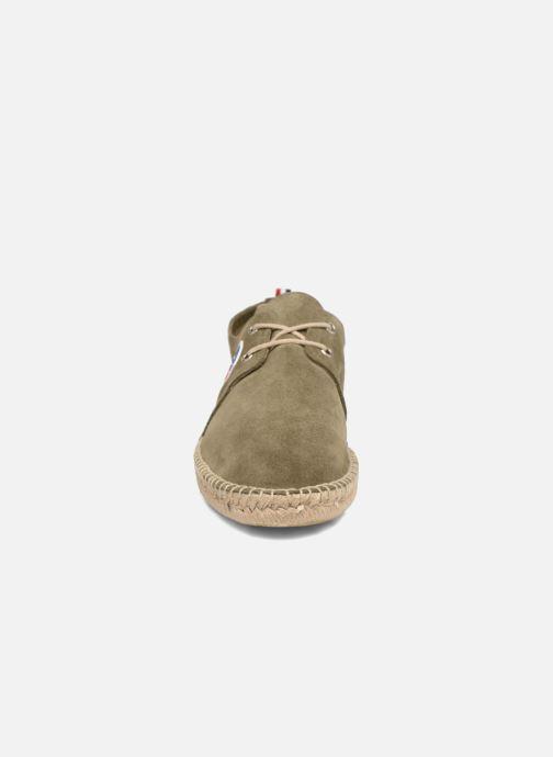 Espadrilles 1789 CALA Riviera Leather M Vert vue portées chaussures