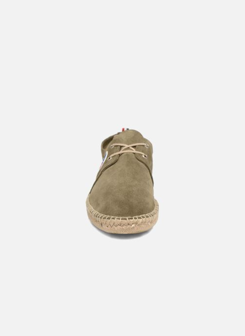 Scarpe di corda 1789 CALA Riviera Leather M Verde modello indossato