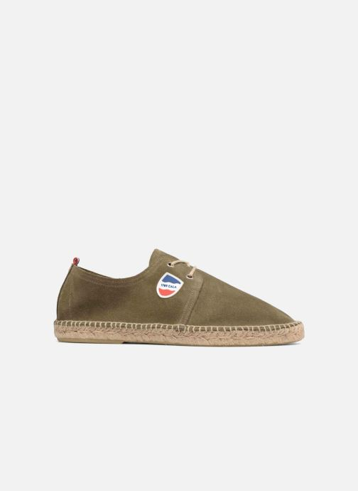 Espadrilles 1789 CALA Riviera Leather M Green back view