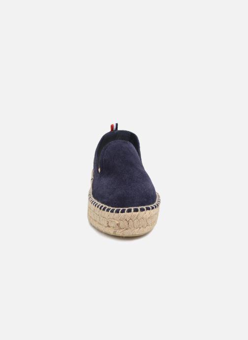 Espadrilles 1789 CALA Slip On Double Leather Blauw model