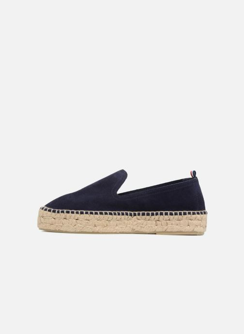 Espadrilles 1789 CALA Slip On Double Leather Blauw voorkant