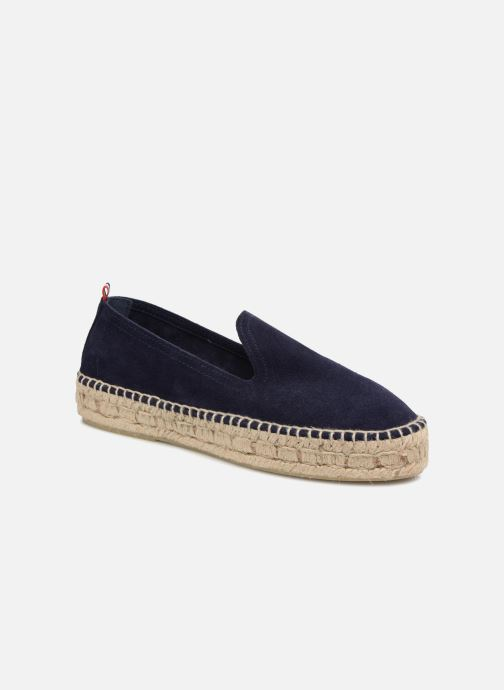 Espadrilles 1789 CALA Slip On Double Leather Blauw detail