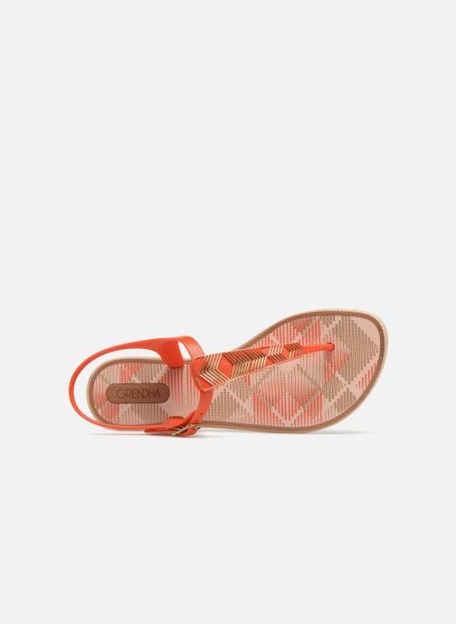 Sandales et nu-pieds Grendha Romantic II Sandal Orange vue gauche
