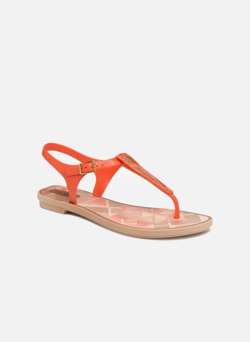 Sandaler Grendha Romantic II Sandal Orange detaljeret billede af skoene