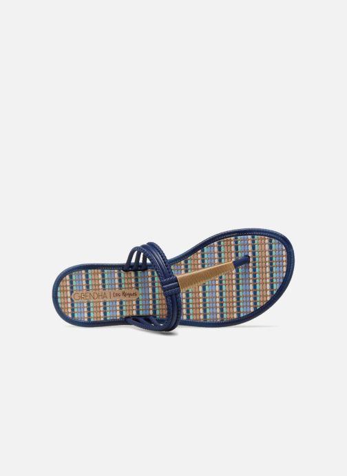 Slippers Grendha Riviera II Thong Blauw links