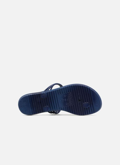 Flip flops Grendha Riviera II Thong Blue view from above