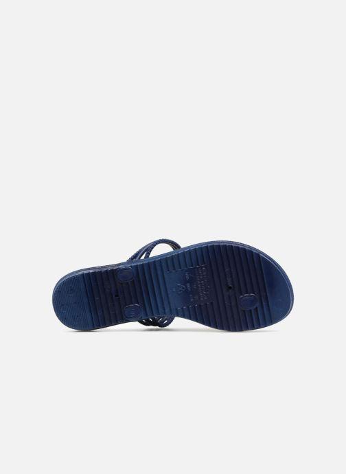Slippers Grendha Riviera II Thong Blauw boven