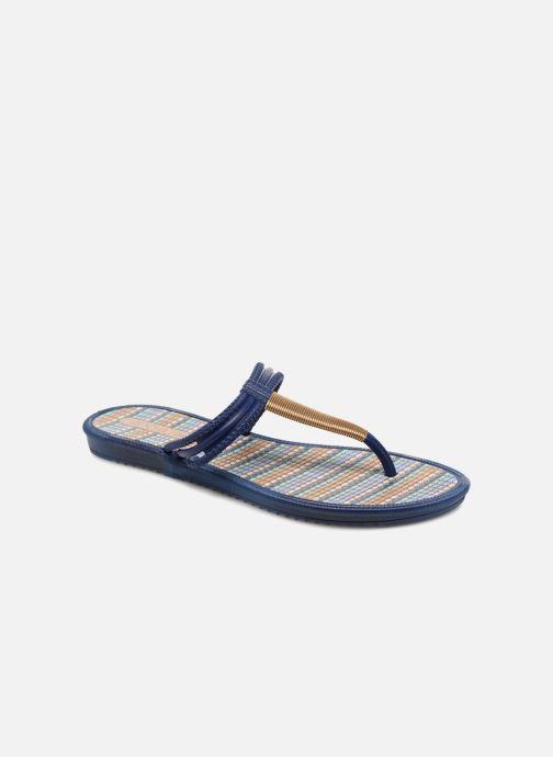 Slippers Grendha Riviera II Thong Blauw detail