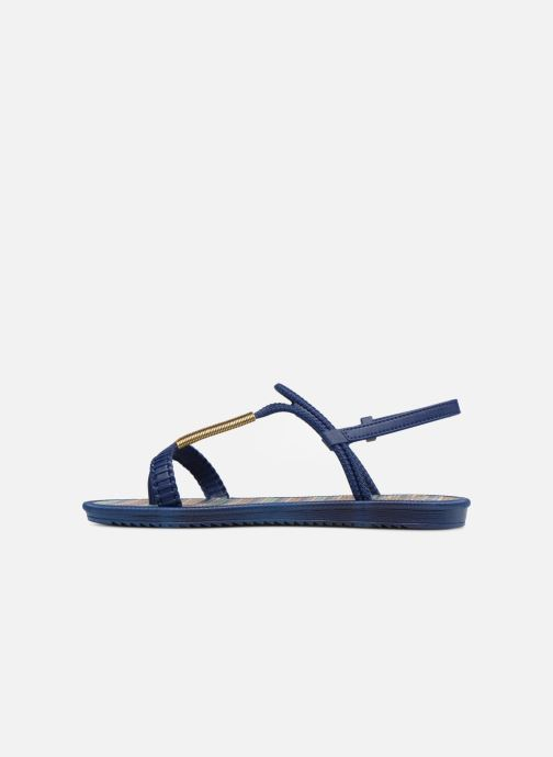 Sandales et nu-pieds Grendha Riviera II Sandal Bleu vue face
