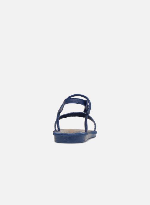 Sandalias Grendha Riviera II Sandal Azul vista lateral derecha