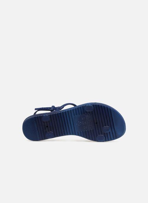 Sandalias Grendha Riviera II Sandal Azul vista de arriba