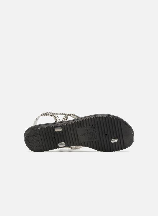 Sandales et nu-pieds Grendha Riviera III Sandal Noir vue haut