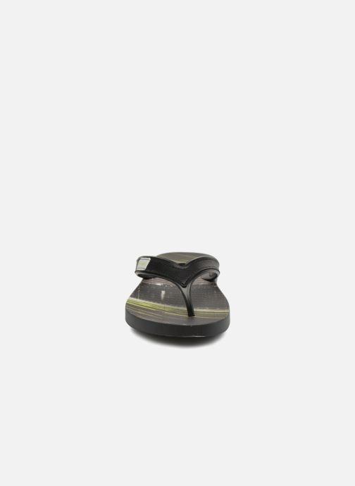 Zehensandalen Rider Shape Mix Thong AD H schwarz schuhe getragen