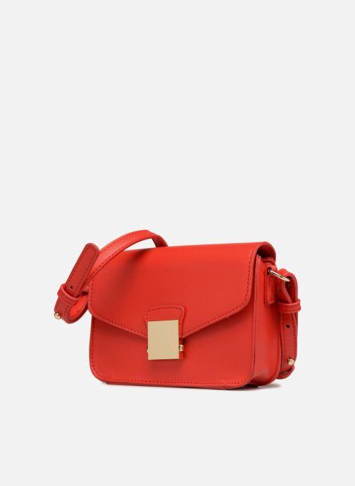 Handtaschen Georgia Rose Juliette rot schuhe getragen